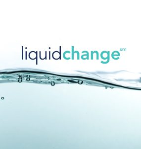 Water with the words Liquid Change